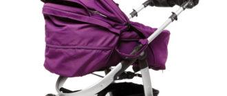 Детская коляска со съемным чехлом