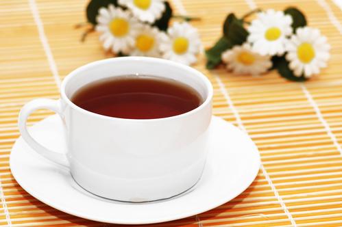 Чашка черного чая