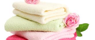 Махровые полотенца после стирки