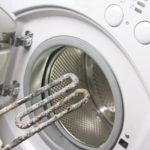 Накипь на тене в стиральной машине