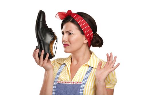 Неприятно пахнущие ботинки
