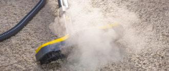 Чистка ковролина сухим пылесосом