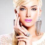 Красивые серебряные кольца и серьги