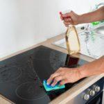 Мытье варочной панели из стеклокерамики