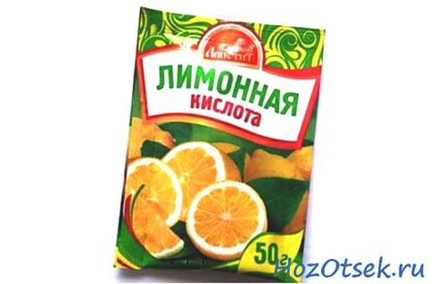 Пачка лимонной кислоты