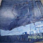 Стопка новых джинсов