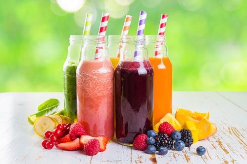 Соки фруктовые и ягодные