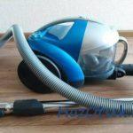 Пылесос с чистым фильтром