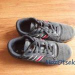 Пара замшевых кроссовок