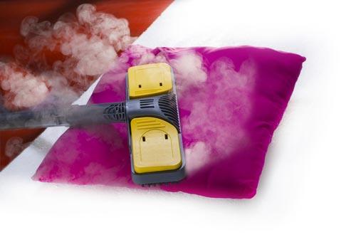 Чистка подушки паром