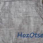 Льняные брюки с карманами