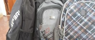Школьные рюкзаки и спортивный