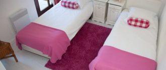 Застеленная чистая постель