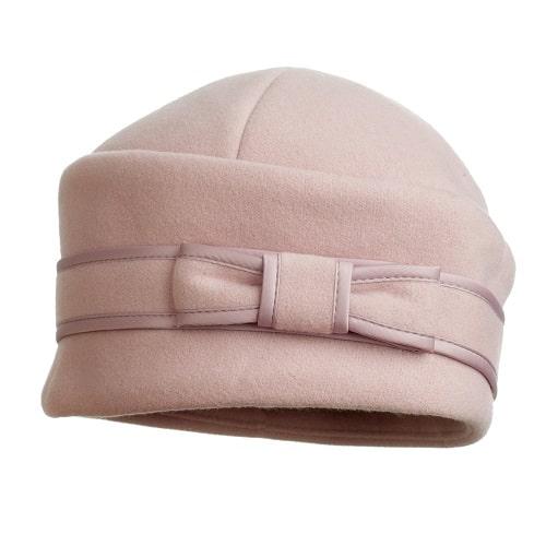 Женская шляпка из фетра